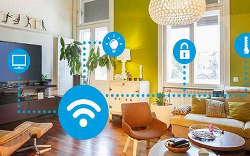 For Smart Homes Concept.